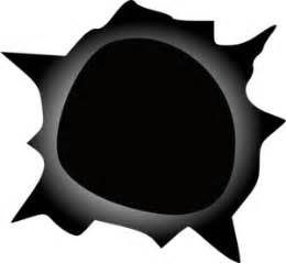 Gradient Edge Bullet Hole Clip Art at Clker.com - vector ...