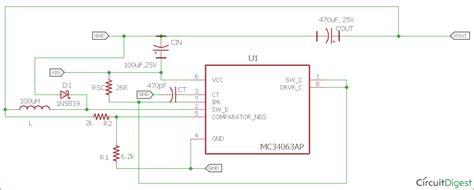 Buck Converter Circuit Using