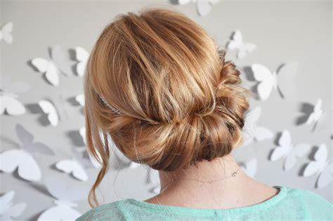 coiffure facile cheveux mi sur les 233 paules