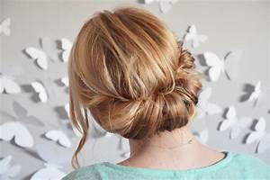 Coiffure Simple Femme : coiffure facile cheveux mi long sur les paules ~ Melissatoandfro.com Idées de Décoration