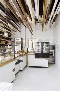Bathroom Storage Idea Inviting Bakery Design In Warsaw Exhibiting An Eye Catching Plywood Installation Freshome