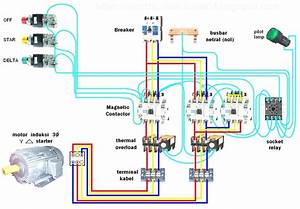 Wiring Diagram For Star Delta Motor Starter