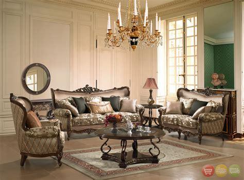 traditional european design formal living room set w