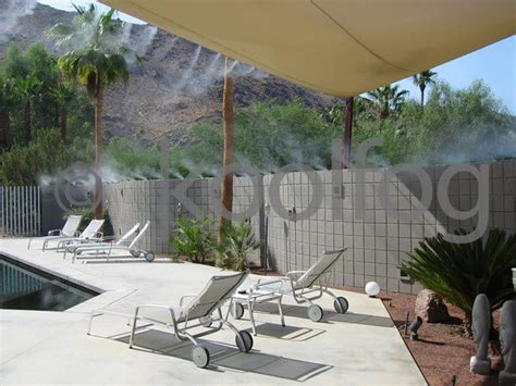 patio misting system benefits of a patio mist system in palm desert