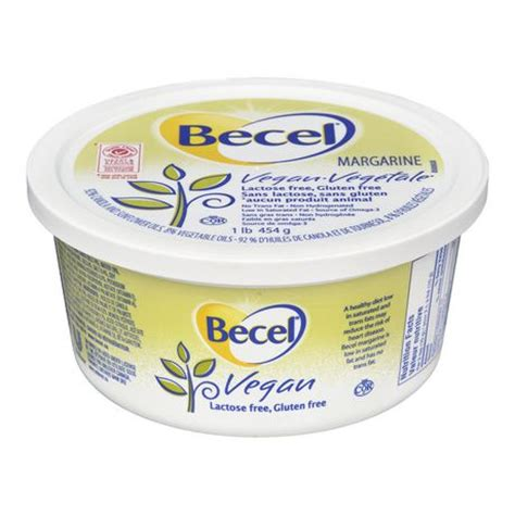 is margarine vegan becel 174 vegan margarine 1lb walmart canada