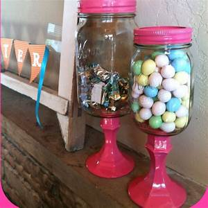 67 best mason jar crafts images on pinterest mason jars With what kind of paint to use on kitchen cabinets for painted mason jar candle holders
