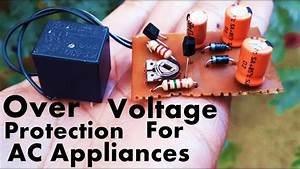 Overvoltage Protection Circuit For Ac Appliances