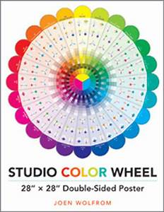 Faber Castell Classic Colour Chart Buy Studio Color Wheel Poster 28x28 Inches