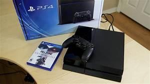 Sony Playstation 4 Unboxing Setup YouTube