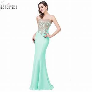Robe Demoiselle Dhonneur : buy robe demoiselle d 39 honneur 11 colors lace mermaid mint green navy blue ~ Melissatoandfro.com Idées de Décoration