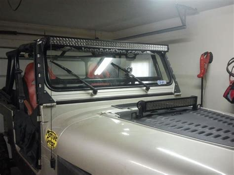 introducing hmf fabrication led light bar mounts for cj yj