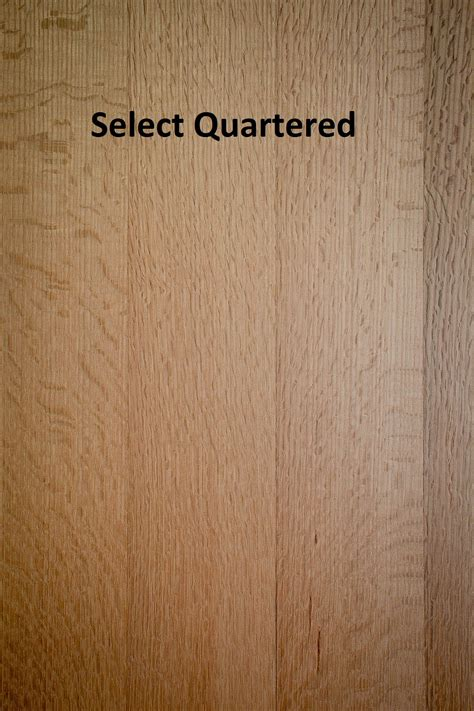 unfinished solid red oak rq rift  quartered