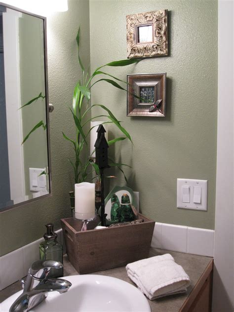 Sage Green And Brown Bathroom Wwwimgkidcom The Image