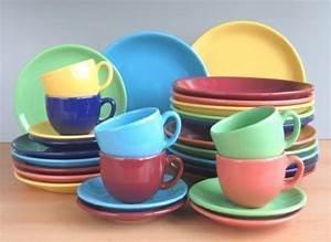 Buntes Geschirr Set : m bel von villa table f r k che g nstig online kaufen bei m bel garten ~ Sanjose-hotels-ca.com Haus und Dekorationen
