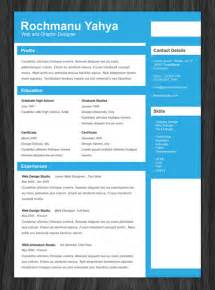 best free resume templates free online 11 psd one page resume templates designbump