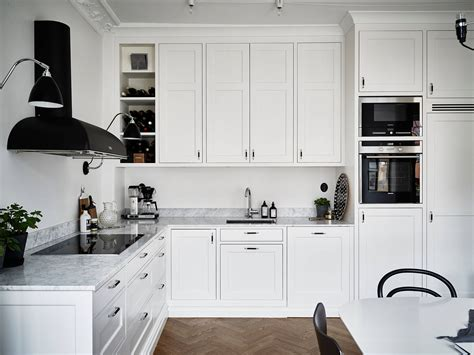 Classic Kitchen With A Fresh Look  Coco Lapine Designcoco