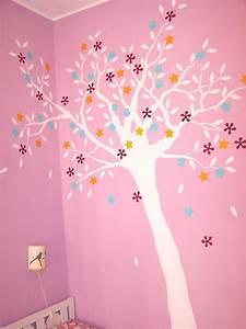 Cameretta: albero decorato a parete Cose di Casa