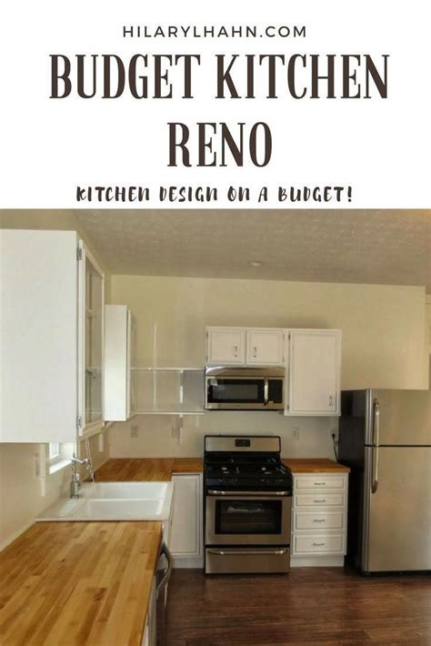 renovate your fixer kitchen on a tight budget