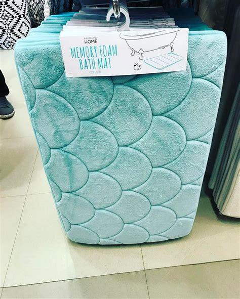 mermaid memory foam bath mat  primark uk