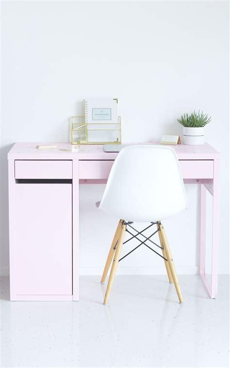 Pink Desk Ikea by Diy Pink Ikea Desk Makeover Best Friends For Frosting