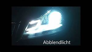 Led Licht Nachrüsten : original mercedes led bi xenon facelift front scheinwerfer umbauen nachr sten c klasse w204 ~ Orissabook.com Haus und Dekorationen
