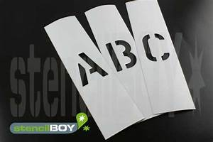 100mm magnetic letter stencils according to font ae with With magnetic stencil letters