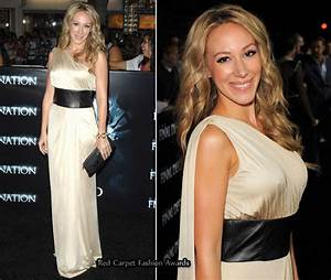 Haylie Duff - Red Carpet Fashion Awards