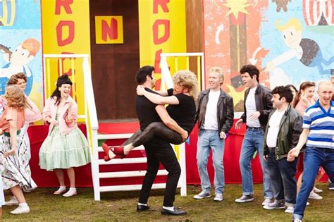 emily atack grease keith paddy picture show does grease all star cast of