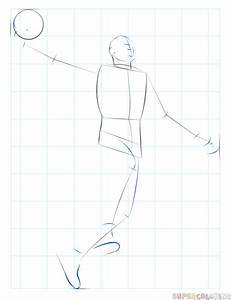 How To Draw A Basketball Player Dunking Step By Step