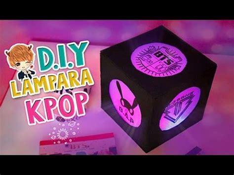 diy kpop crea tu propia lampara de grupos kpop decora tu