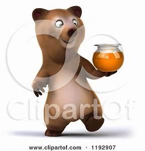 Royalty-Free (RF) Honey Bear Clipart, Illustrations ...
