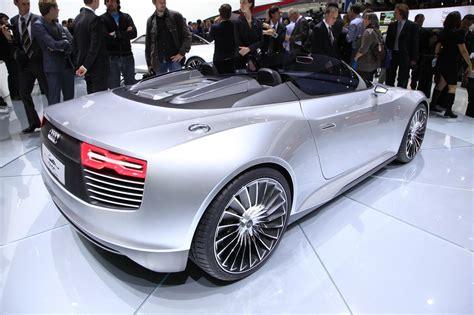 Audi Etron Spyder  Audi Etron Spyder  Une Vitrine Pour