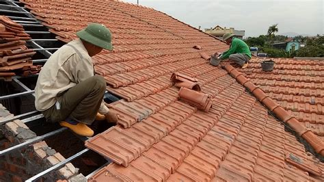 roofing a house using terracotta tiles how to