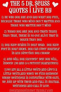 the 5 Dr Seuss quotes to live by | My Style-What I think ...