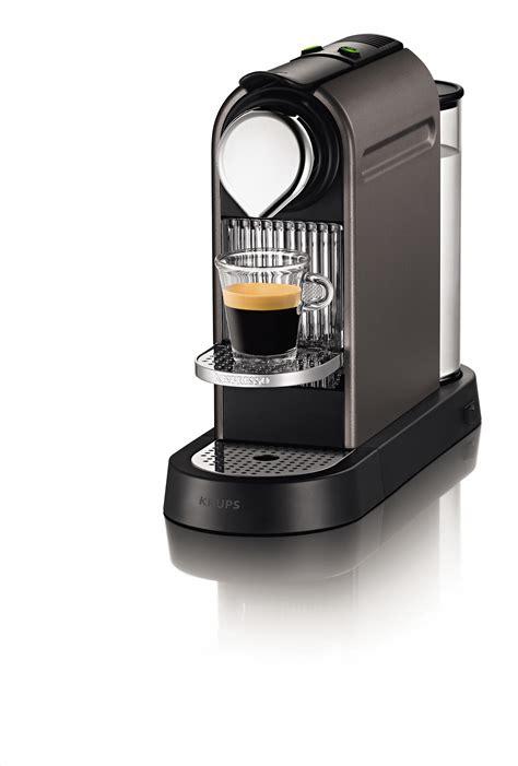 Krups Nespresso Bedienungsanleitung by Krups Nespresso Citiz Yy1470fd Titane Achat Vente