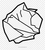 Paper Crumpled Clipart Drawing Tissue Coloring Clip Line Pinclipart Printing Sketch Pikpng Using Getcolorings Ausmalbild Template sketch template