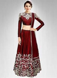 Buy Fabboom Latest Maroon Beautiful Designer Lehenga Choli