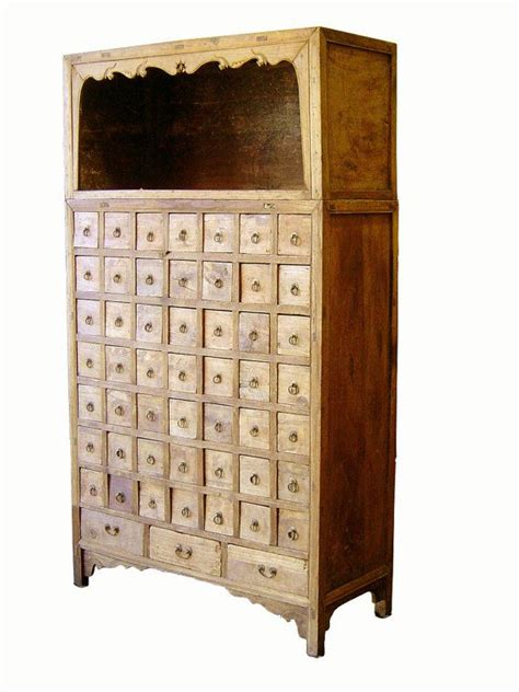 antique chinese apothecary cabinet woodworking projects plans