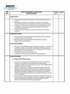 Hotel Audit Program Rr Fixed 1