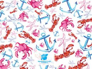 Lilly Pulitzer Anchor Pattern