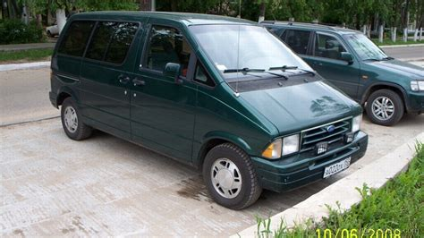 ford aerostar minivan specifications pictures prices