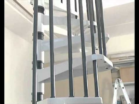 escalier colima 231 on kit spiral metal