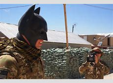 A Superheroic Caped Crusade to Keep Troops Safe in
