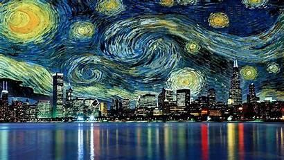 Starry Night Desktop