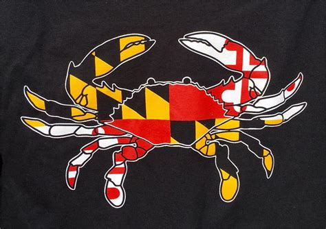 md crab  shirt