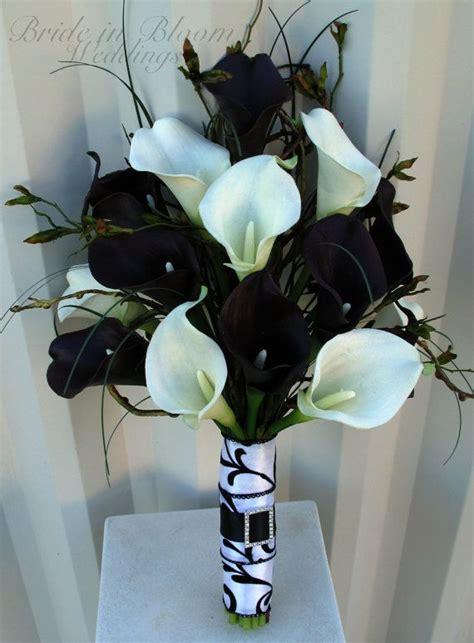 inspiration mariage de printemps en noir et blanc bouquet mari 233 e deco mariage et bouquet