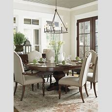 Coventry Hills Ridgeview Round Dining Table  Lexington