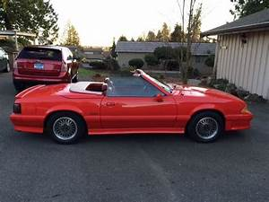 1988 ASC McLaren Mustang, 2 Seat Roaster. # 908, 5.0 L / w Auto. for sale in Anacortes ...