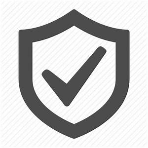 Check sign, ok, security, shield, verified icon | Icon ...