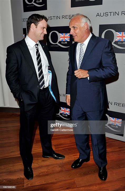 cricket player andrew strauss  austin reed ceo nick